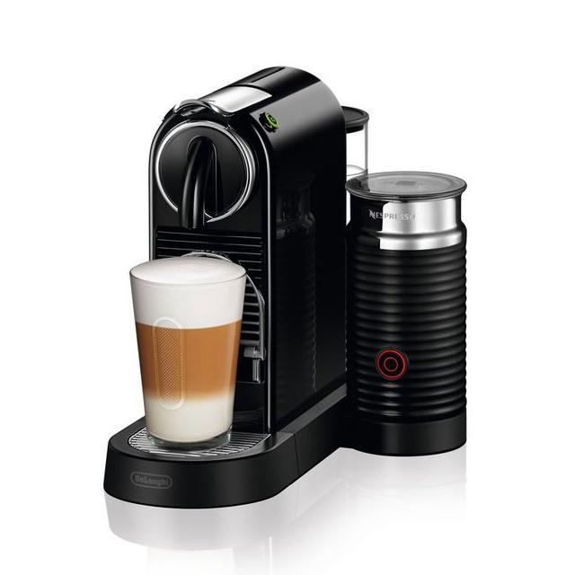 네스프레소 드롱기 시티즈앤밀크 EN267 캡슐 커피머신 독일출고, 블랙