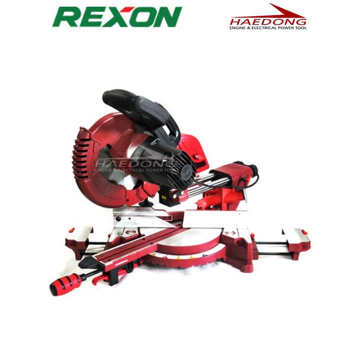 렉슨 10인치 금속각도절단기 MC-2502A 슬라이드 레이저타입 (POP 4925011589)