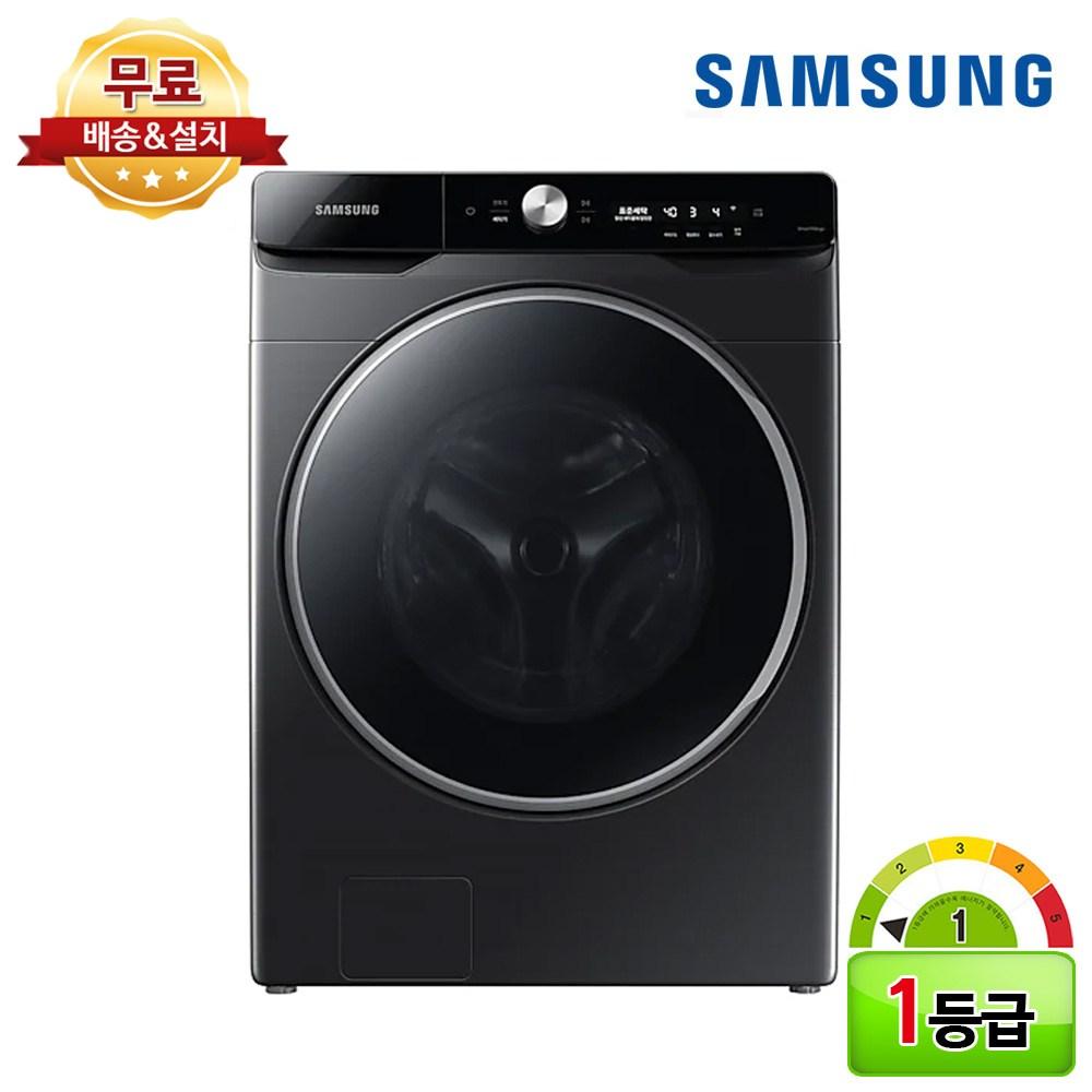 삼성전자 그랑데 AI 세탁기 1등급 24kg WF24T9500KV 삼성물류 무료설치