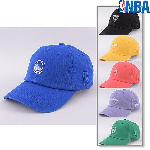 NBA AK수원점 NBA 모자 남여공용 로고 자수 커브캡N195AP072P