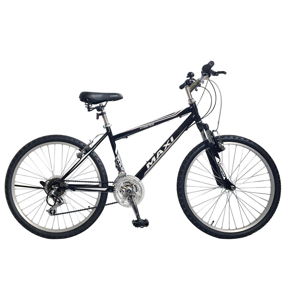 지멘스 맥시SF 24인치 26인치 학생용 21단 앞쇼바 출퇴근용 MTB 자전거, 165cm, 맥시SF(26인치)_블랙/실버