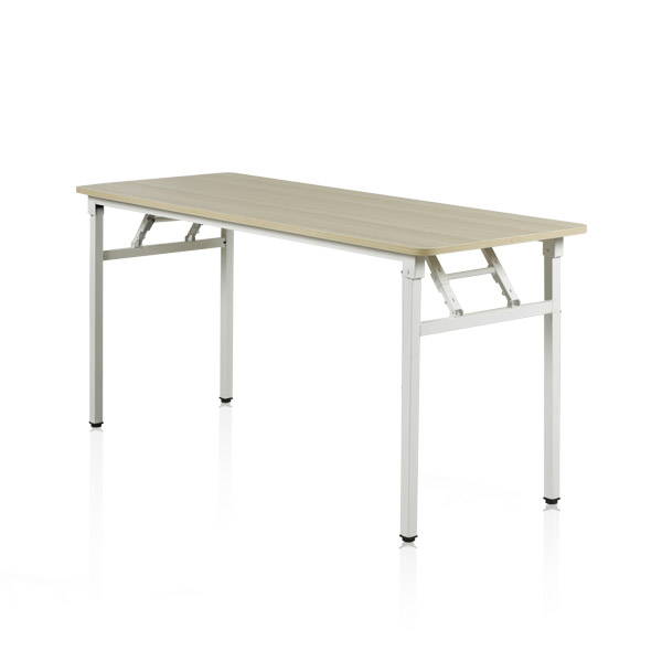와이디 접이식 테이블 사무용 컴퓨터 책상, 1500x450_퓨어비치 (YWD6026-WH)