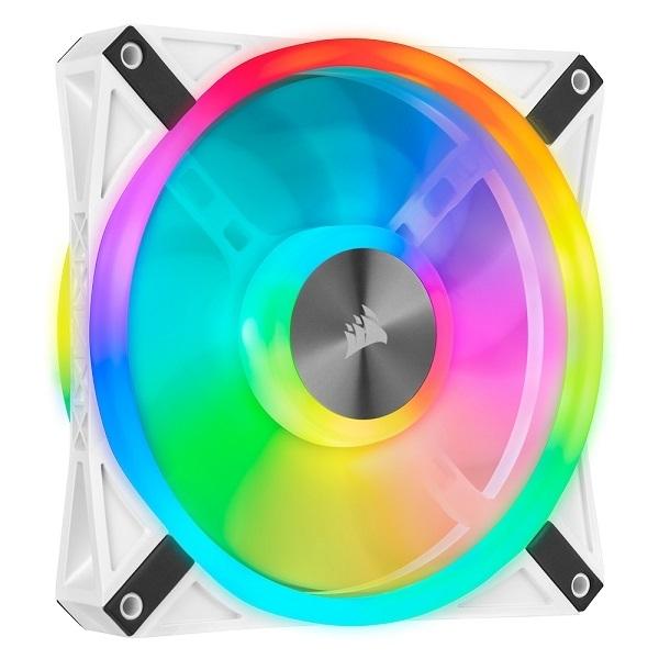커세어 iCUE QL140 RGB 140mm쿨링팬 케이스 튜닝 쿨러 화이트 1Pack, 단일상품