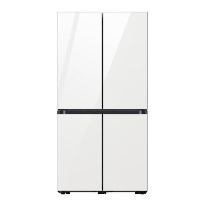 [삼성] 비스포크 양문형 냉장고 4도어 프리스탠딩 874L RF85A9121AP(글라스) (POP 5732758462)