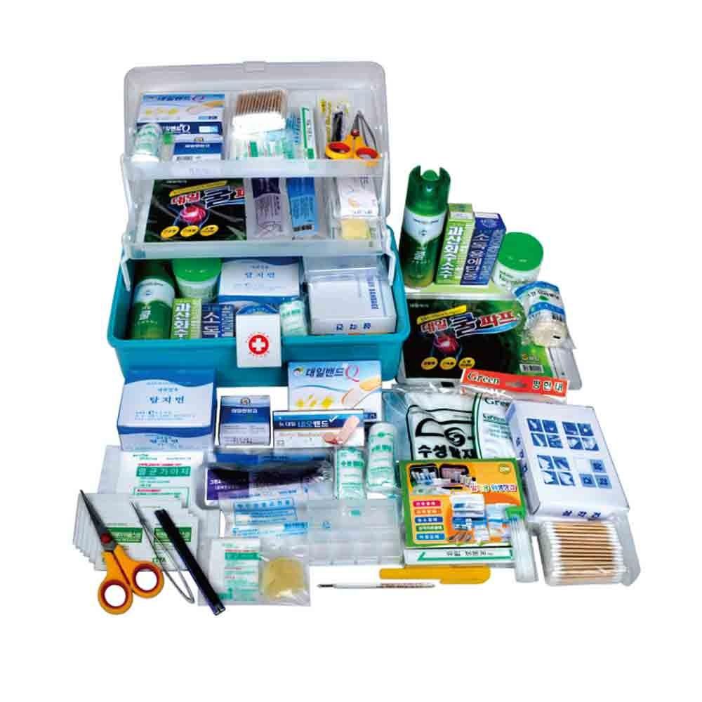 MVP구급함A 구급상자 가정용구급함 구급함세트 구급약상자 구급약세트, 1개 (POP 27746323)