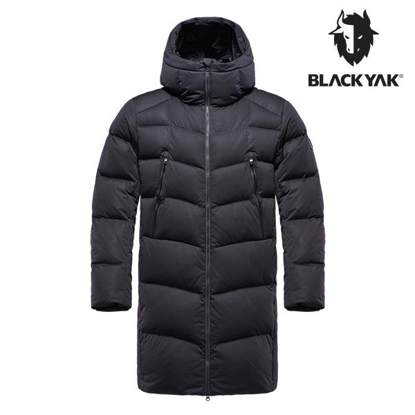 블랙야크 남성 테라 구스다운자켓 블랙 1BYPAW8015