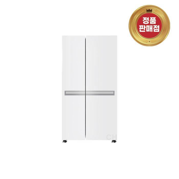 디오스 LG 전자 양문형 냉장고 S833W30 화이트 821리터 화이트 (POP 4923525272)