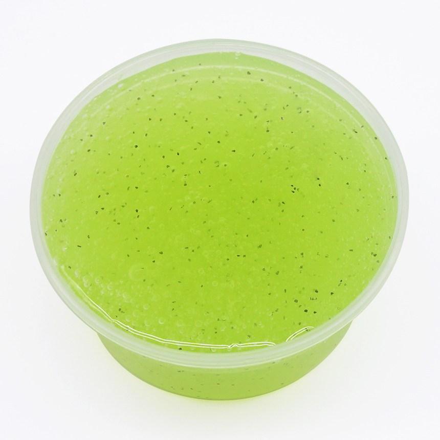 아트니즘 슬라임 액체괴물 크런치 클리어 버터 113종 택1 수제슬라임, 120g, 35뽀삭플라워블루 120ml