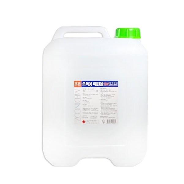 조은팜 소독용 에탄올 18L, 7개 (POP 163012410)