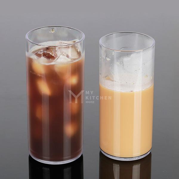 트라이탄 일자컵, 17온스(500ml)