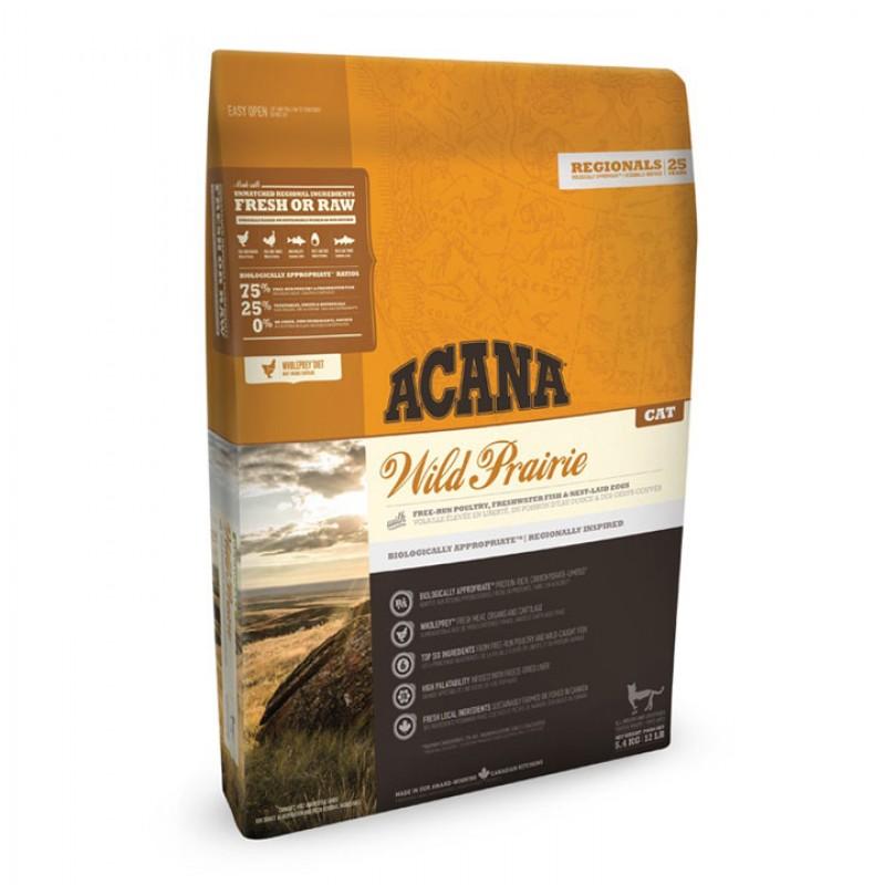 아카나 와일드 프레이리ー 캣 5.4kg곡물의 사용 전 묘종용 고양이 푸드 드라이 캐트 푸드 애완 동물 사료