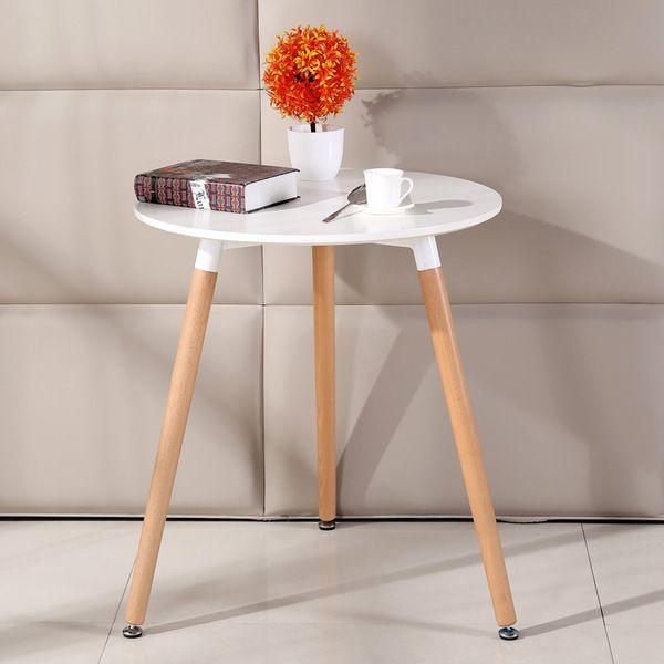 임스테이블 간단한 티테이블 다용도 활용가능테이블, 화이트