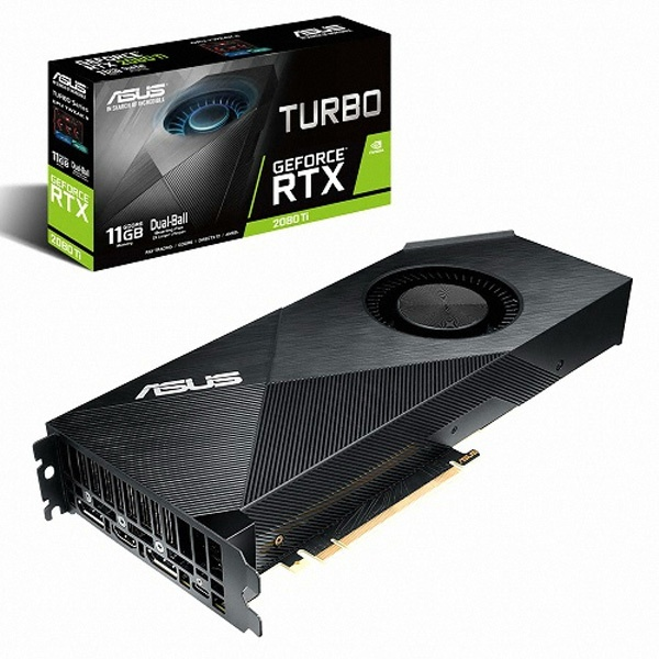 two1mall [ASUS] GeForce RTX 2080 Ti TURBO D6 11GB 그래픽카드, 538314