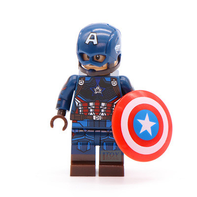 엔드게임 어벤져스 레고호환 캐릭터 시리즈, 제품169)캡틴아메리카 오리지널슈트