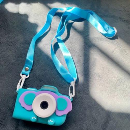 해외직구 신규버전 3.0인치 키즈 디지털 카메라 어린이용 WIFI 카메라(32GB 메모리 카드 포함) 디지털카메라, 코끼리 카메라