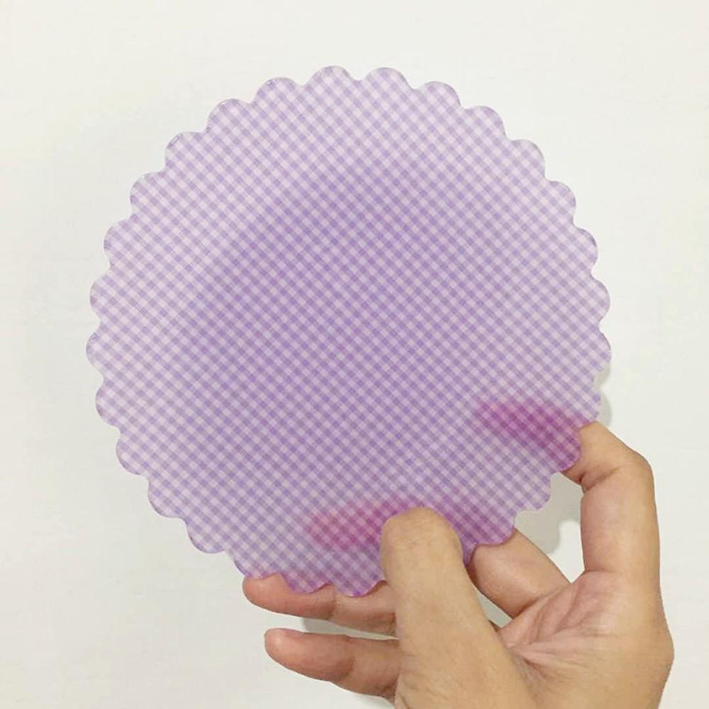 레트로 체크 플라워 플레이트 복고풍 빈티지 꽃무늬 안깨지는 그릇, D