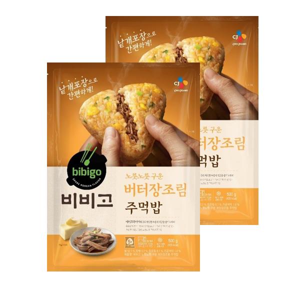 CJ 비비고 구운주먹밥 버터장조림500g x2, 단일상품