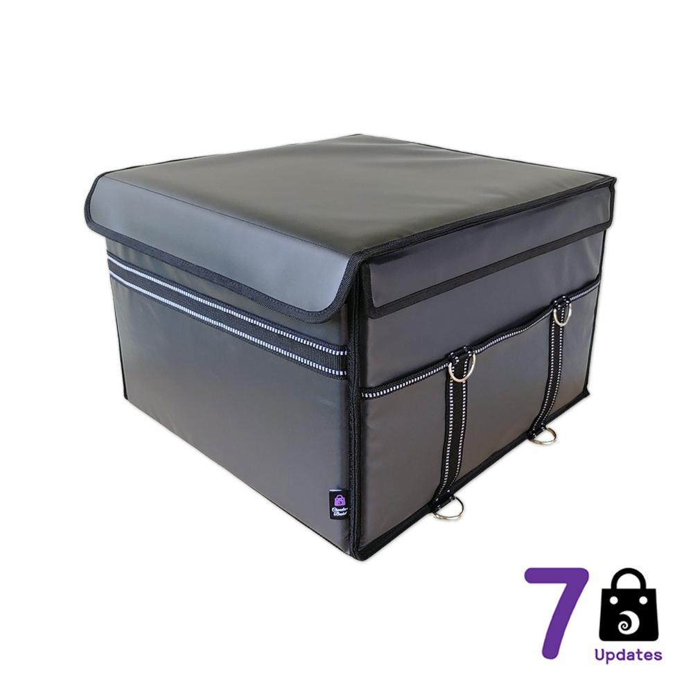 카멜레온 바스켓 7Up 점보 바스켓_배달가방_다용도멀티백_방수 + 오토바이 배달가방 배달통