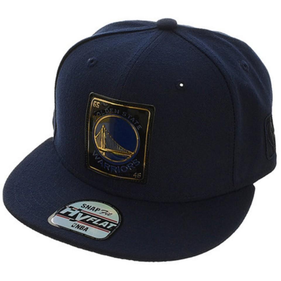 NBA 골든스테이트 로고 고주파 스냅백(N185AP662P)