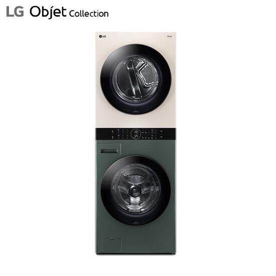 LG 워시타워 오브제 컬렉션 그린베이지 W16GE, 단품