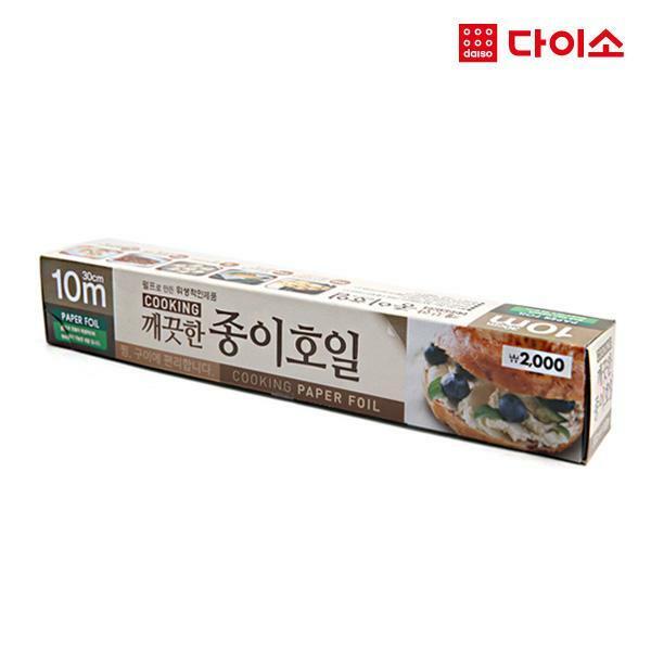 [다이소]쿠킹종이호일30cm*10m-57843, 단일상품