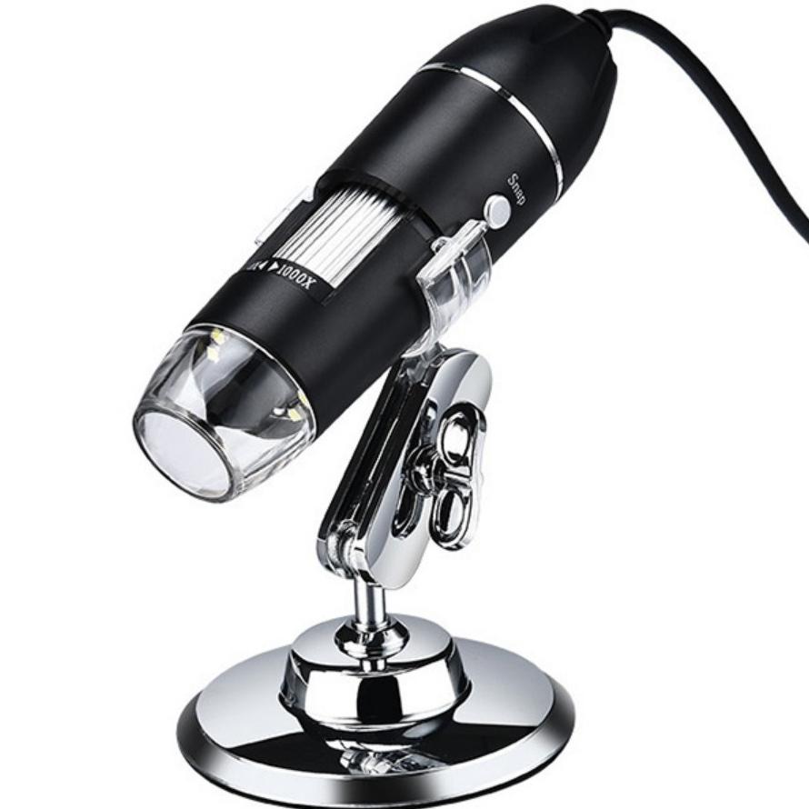 정선품샵 1600X 스마트 현미경 전자현미경 USB 핸드현미경, 1600배