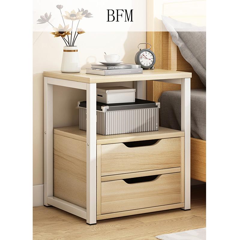 뉴타임즈3 침대머리 가정용 거실 선반 쏘파 옆 침대의 침대 가장자리에는 서랍이 달려 작은 찬장을 수납한다 A8, BFM