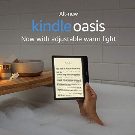[아마존베스트]From: All-new Kindle Oasis - Now with adjustable warm light - Includes special offers, Graphite, Graphite_One Size