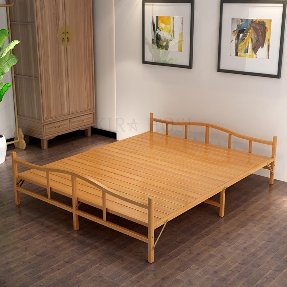 kirahosi 1인 사무실 다기능 간이 접이식 침대 의자 소파 원룸 캠핑 베드 고시원 175 J 9+덧신 증정 BF3zea8g, 브라운 198*60CM