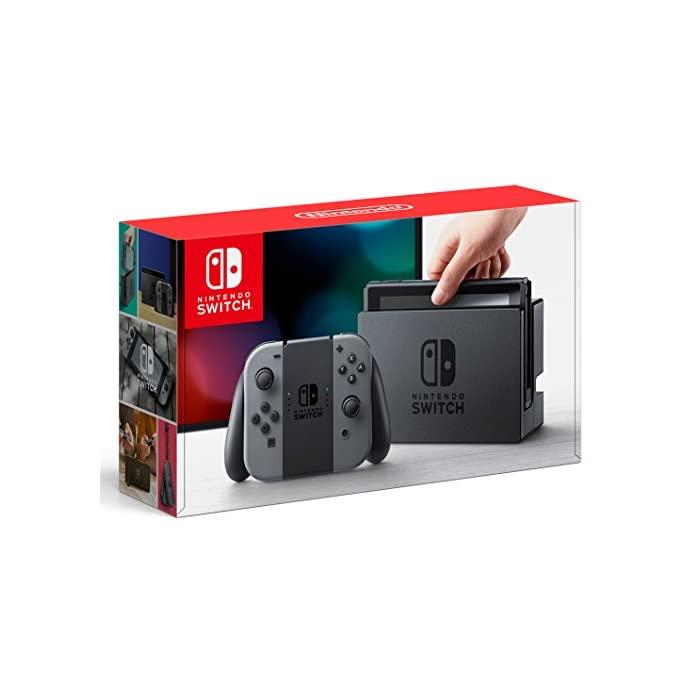 닌텐도 Nintendo Switch 본체 (닌텐도 스위치) [Joy-Con (L) / (R) 그레이] (캠페인, 자세한 내용은 참조