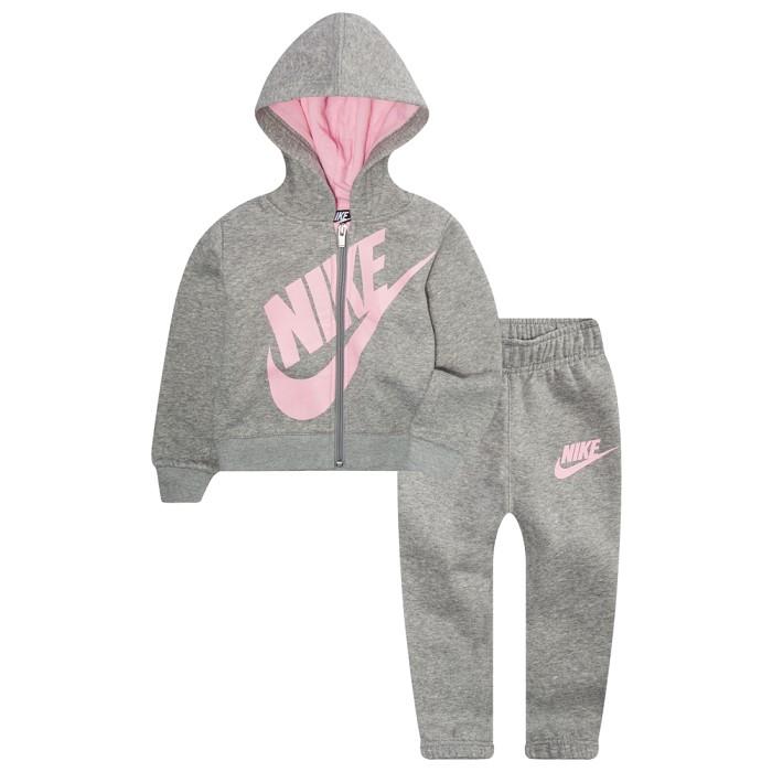 나이키키즈 Nike Fleece Full-Zip Futura Set-Girls-26409042-p48