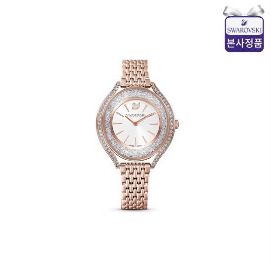 스와로브스키 Crystalline Aura 로즈골드 시계 5519459