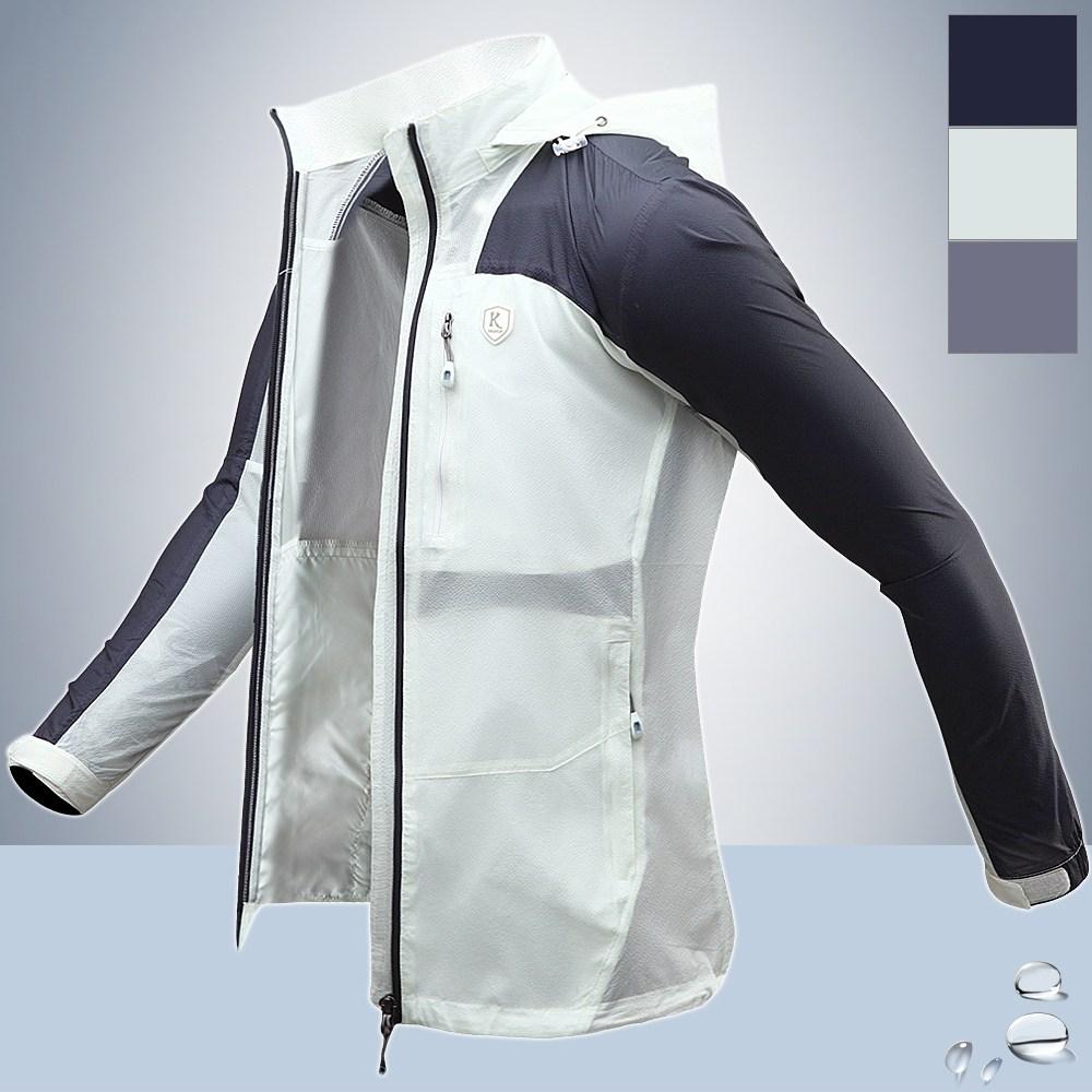샤인힐즈 기획 봄여름 KP 경량 와샤 배색 바람막이 방풍자켓 KPK2012