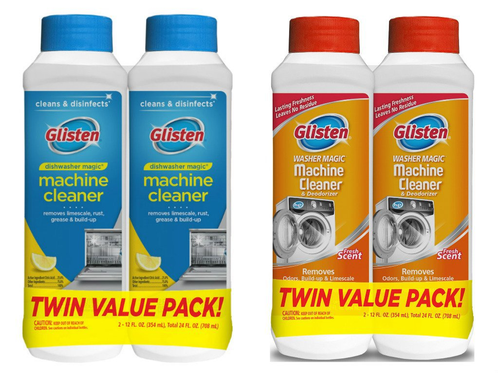 식기세척기세제 전용 린스 식세기 엘지 삼성 코스트코 밀레 글리스 식기 세척기 매직 머신 클리너 및 소독 제 2팩 과세탁기 세탁기 청소기 데오도라이저, 단일수량