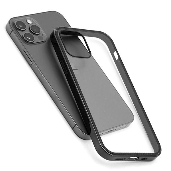모모켓 메탈릭하이브리드 아이폰12 미니 프로맥스 투명 하드케이스