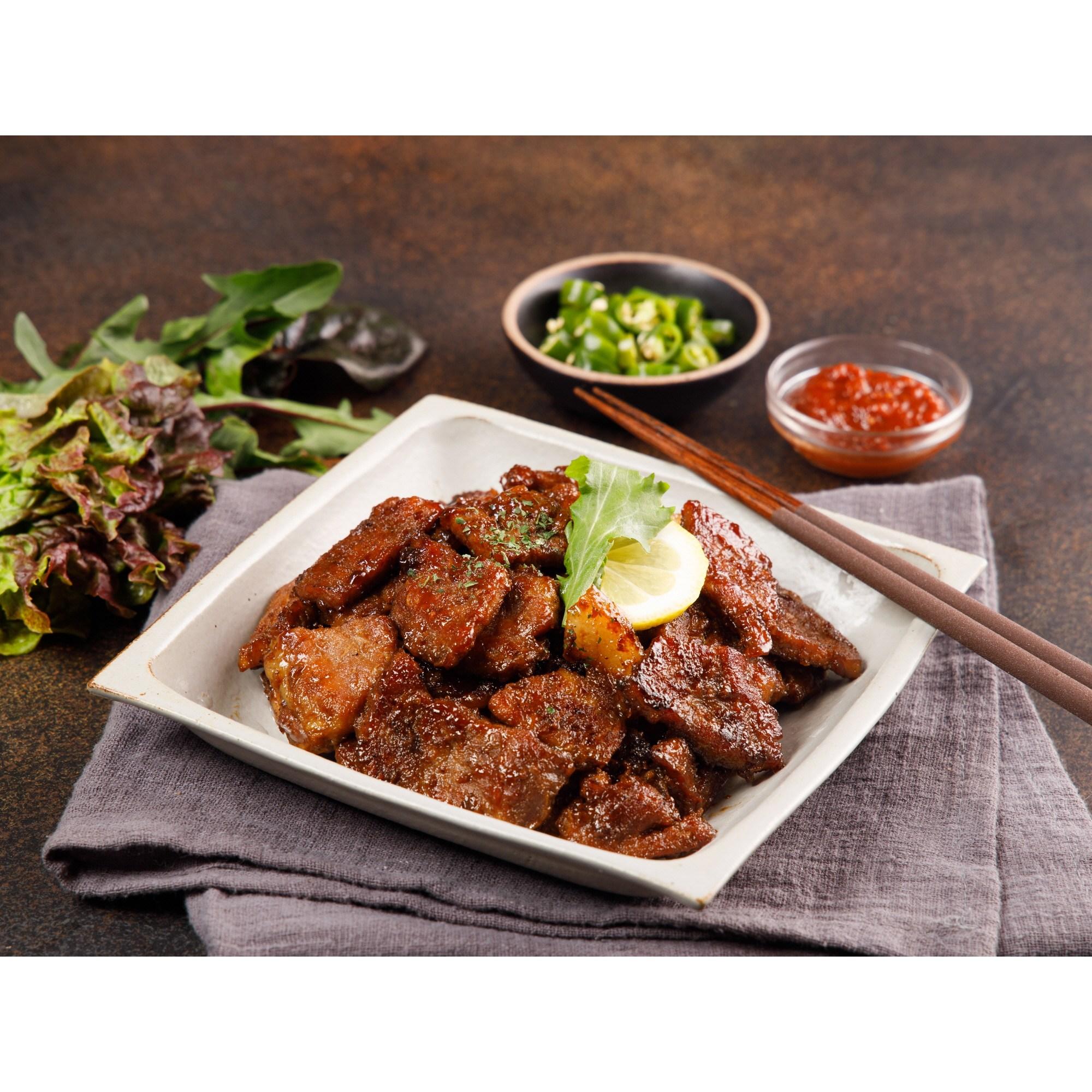 꿀맛나는세상 제주 흑돼지 숯불 왕구이, 3팩, 300g