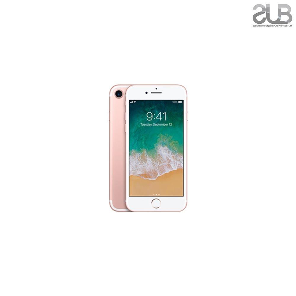 무료 SUB 아이폰 7 지문방지 저반사 보호필름 2매 3개   강화유리필름 액정보호필름 핸드폰필름 보호필름