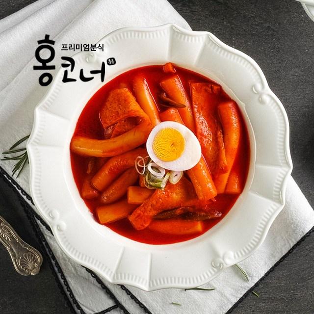홍코너 옛날 떡볶이 (누들떡) 1인분, 225g