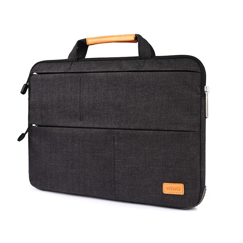 WIWU 맥북프로16인치케이스 가방, 블랙
