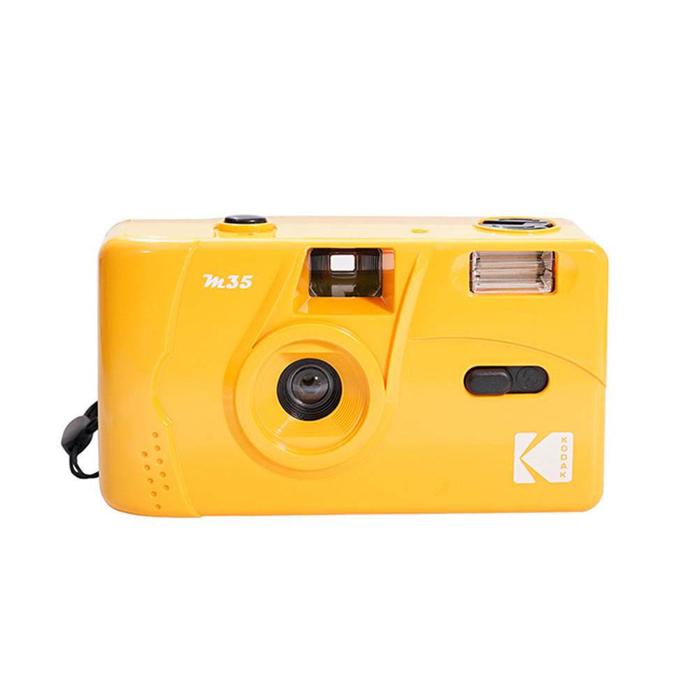 코닥 KODAK 다회용 일회용 입문용 필름 토이카메라 M35, 옐로우