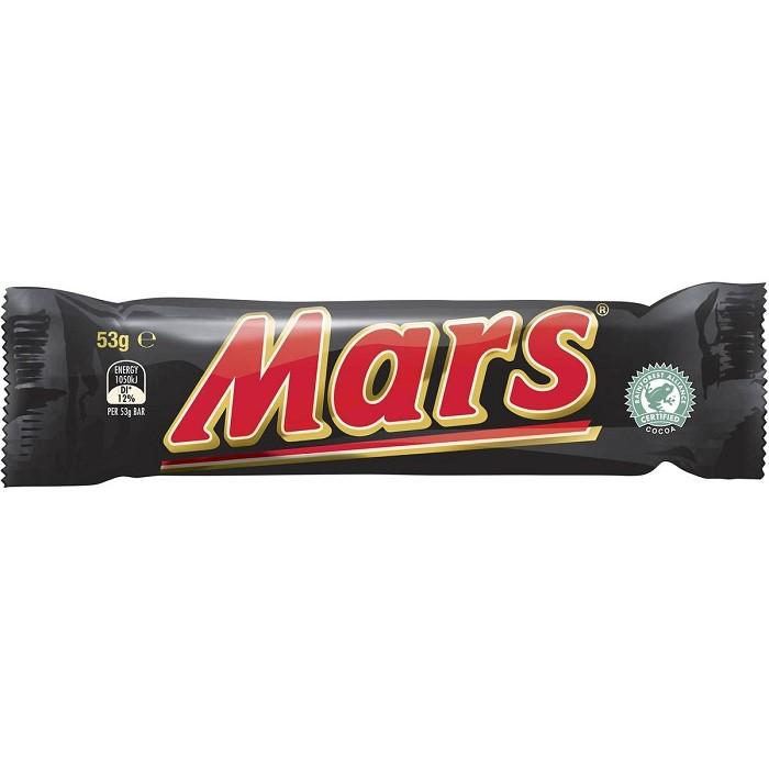 마스 초콜릿 바 53g Mars Chocolate Bar 53g