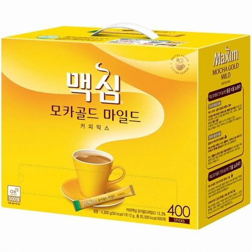 맥심 모카골드 마일드 커피믹스, 12g, 400개
