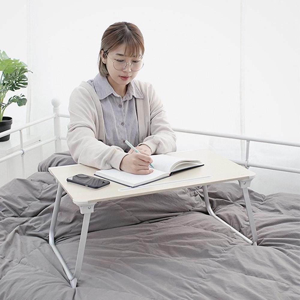 좌식 미니테이블 간이공부책상 침대책상 노트북침대