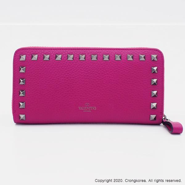 [Valentino Garavani]Rockstud Zip Around Wallet