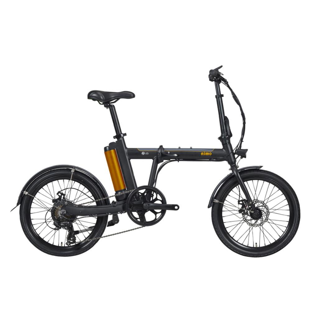 알톤 니모FD 350W 20인치 접이식 전기자전거 PAS겸용 스로틀방식2020년식, 니모FD2020_블랙(파스+스로틀방식)