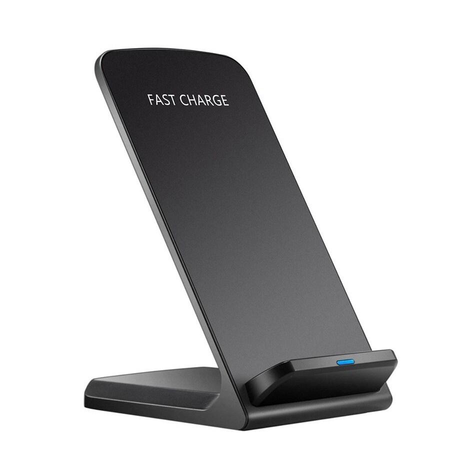20W QI 무선 충전기 빠른 충전 3.0 IPHONE 11 12 8 10 X XS XR 삼성 S20 S10 S6 S7 S8 화웨이 2 코일, 20W Black (POP 5707248973)