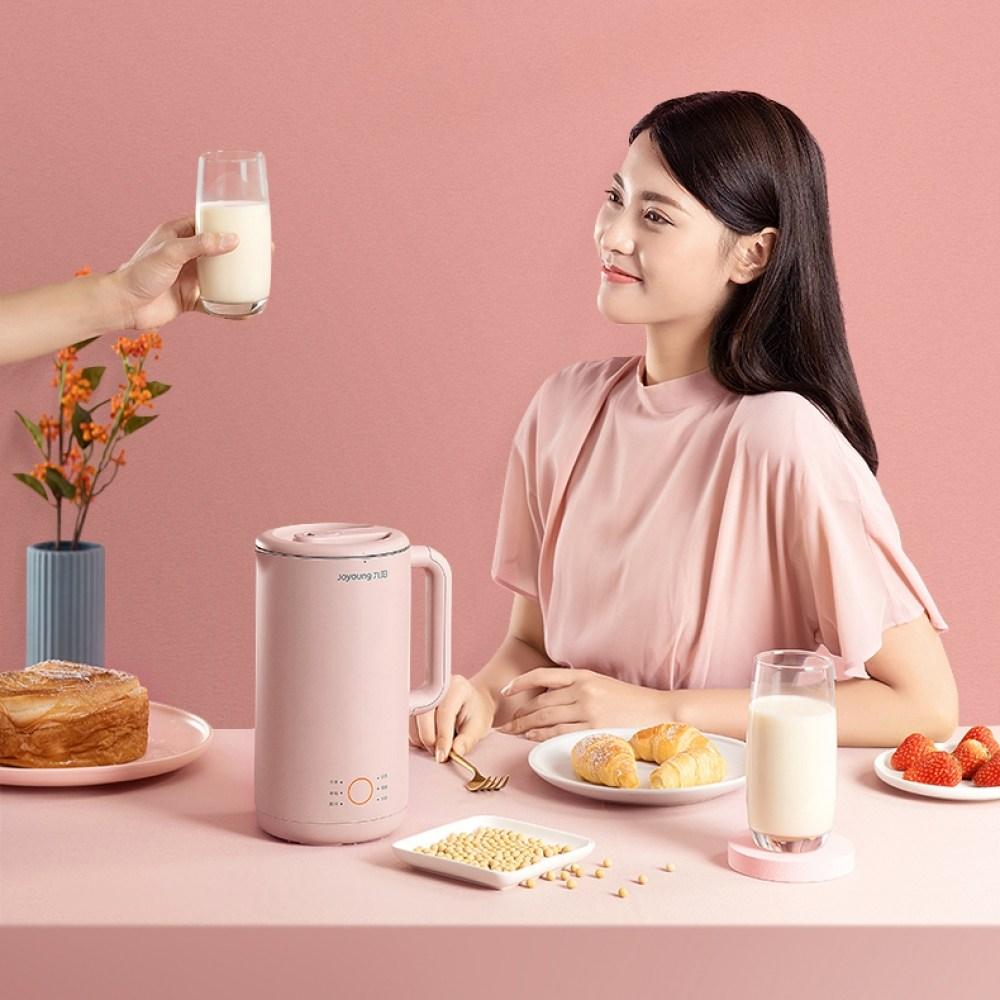 해외직구 Joyoung 두유제조기 DJ06X-D560 핑크 믹서기 두유메이커 죽제조기 죽메이커 과일주스메이커, 상세 참조