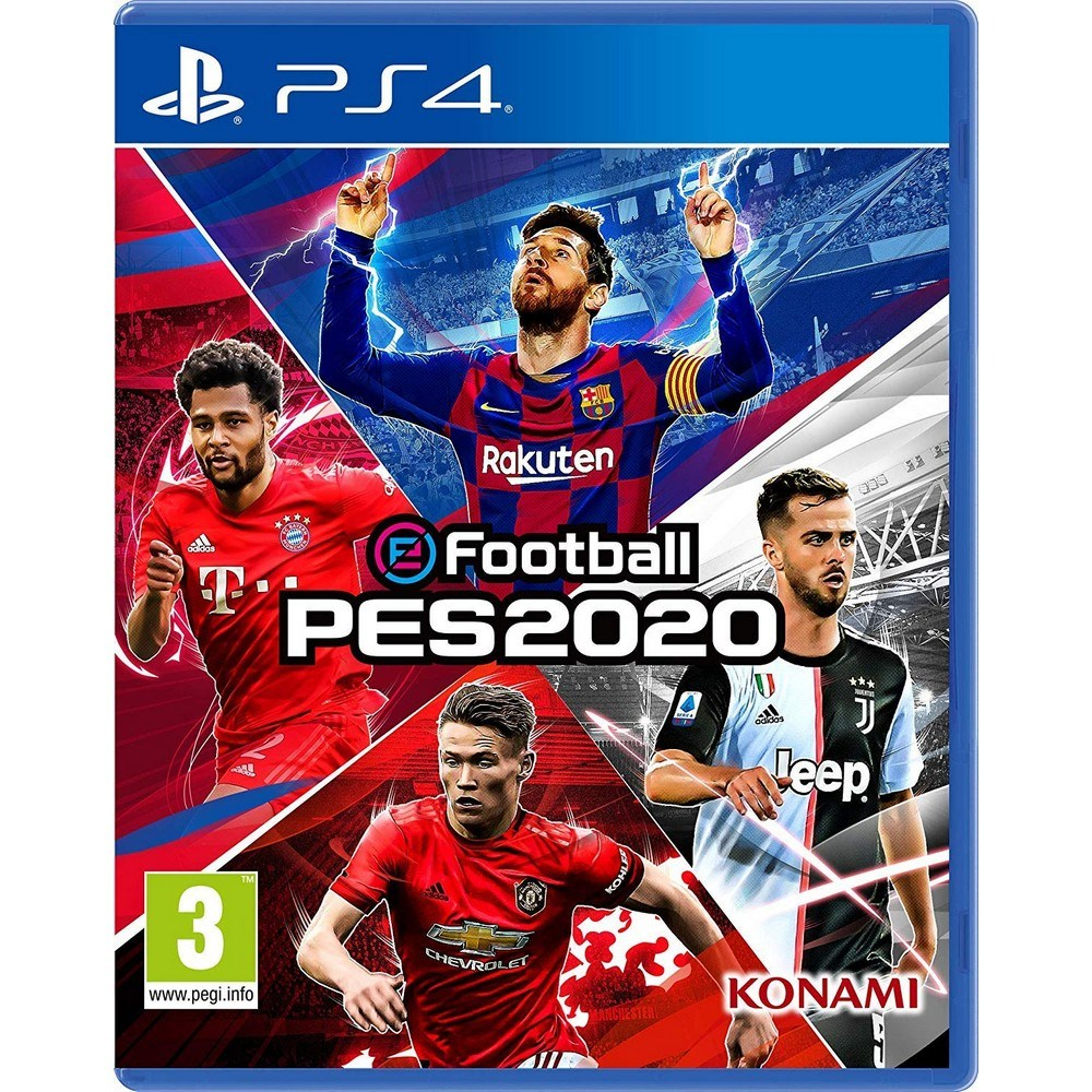 PS4 프로 에볼루션 사커 2020 Pro Evolution Soccer, 선택1