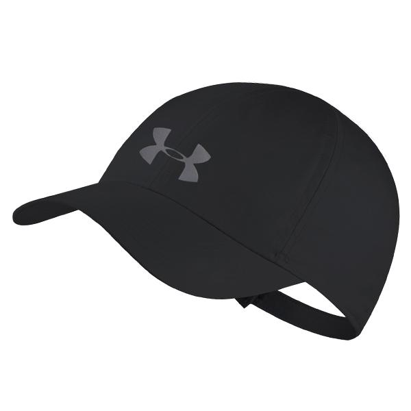 언더아머 UA 런 쉐도우 캡 모자 올블랙 1351463-001 스포츠 패션 야구모