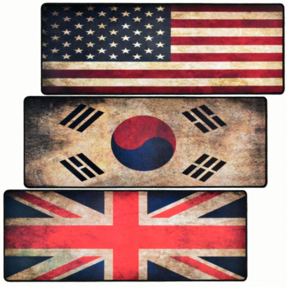 OT 게이밍 G-TRACTER HOME-2 빈티지 국기 장패드 미국 지클릭커, OT 본상품선택